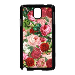 Rose Bushes Samsung Galaxy Note 3 Neo Hardshell Case (black)