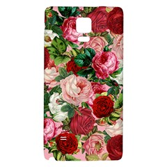 Rose Bushes Galaxy Note 4 Back Case
