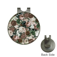 Rose Bushes Brown Hat Clips With Golf Markers