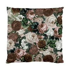 Rose Bushes Brown Standard Cushion Case (two Sides)