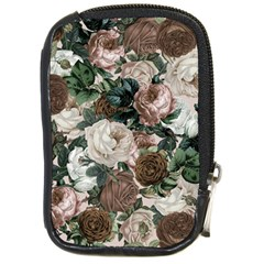 Rose Bushes Brown Compact Camera Cases