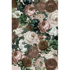 Rose Bushes Brown 5 5  X 8 5  Notebooks