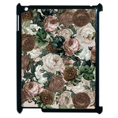 Rose Bushes Brown Apple Ipad 2 Case (black)