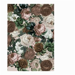 Rose Bushes Brown Small Garden Flag (two Sides)