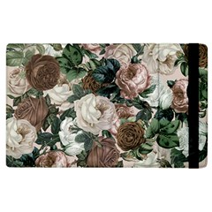 Rose Bushes Brown Apple Ipad 3/4 Flip Case
