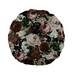 Rose Bushes Brown Standard 15  Premium Round Cushions