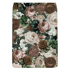 Rose Bushes Brown Flap Covers (l)