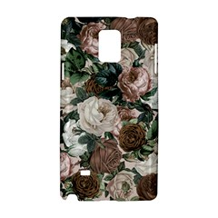 Rose Bushes Brown Samsung Galaxy Note 4 Hardshell Case