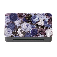 Rose Bushes Blue Memory Card Reader With Cf