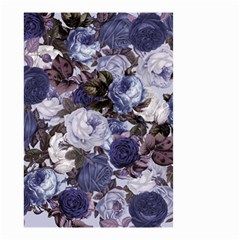 Rose Bushes Blue Small Garden Flag (two Sides)