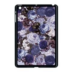 Rose Bushes Blue Apple Ipad Mini Case (black)