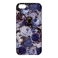 Rose Bushes Blue Apple Iphone 5c Hardshell Case