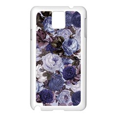 Rose Bushes Blue Samsung Galaxy Note 3 N9005 Case (white)