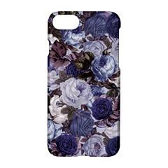 Rose Bushes Blue Apple Iphone 7 Hardshell Case