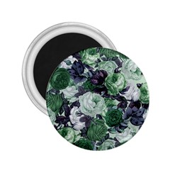 Rose Bushes Green 2 25  Magnets