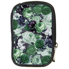 Rose Bushes Green Compact Camera Cases