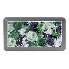 Rose Bushes Green Memory Card Reader (mini)