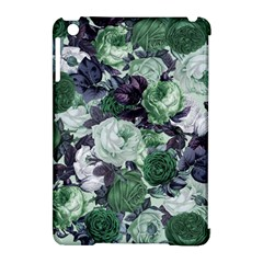 Rose Bushes Green Apple Ipad Mini Hardshell Case (compatible With Smart Cover)