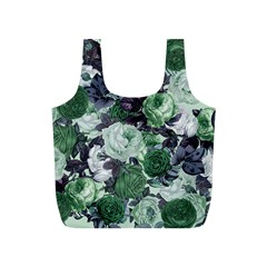 Rose Bushes Green Full Print Recycle Bags (s)
