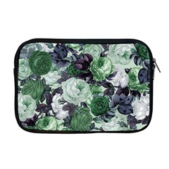 Rose Bushes Green Apple Macbook Pro 17  Zipper Case