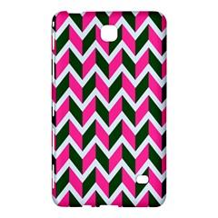 Chevron Pink Green Retro Samsung Galaxy Tab 4 (7 ) Hardshell Case