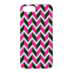 Chevron Pink Green Retro Apple Iphone 7 Plus Hardshell Case