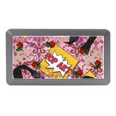 Red Retro Pop Memory Card Reader (mini)