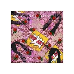 Red Retro Pop Acrylic Tangram Puzzle (4  X 4 )