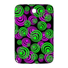 Neon Green And Pink Circles Samsung Galaxy Note 8 0 N5100 Hardshell Case