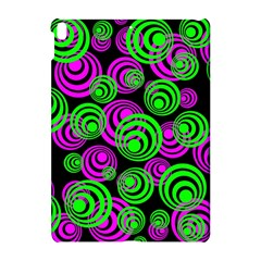 Neon Green And Pink Circles Apple Ipad Pro 10 5   Hardshell Case