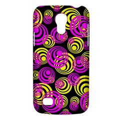 Neon Yellow And Hot Pink Circles Galaxy S4 Mini