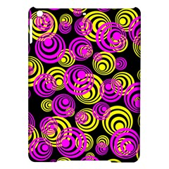 Neon Yellow And Hot Pink Circles Ipad Air Hardshell Cases