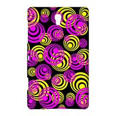 Neon Yellow And Hot Pink Circles Samsung Galaxy Tab S (8 4 ) Hardshell Case