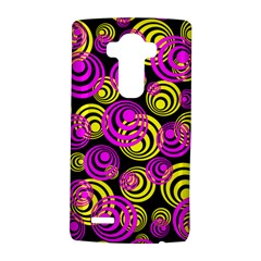 Neon Yellow And Hot Pink Circles Lg G4 Hardshell Case