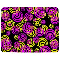 Neon Yellow And Hot Pink Circles Jigsaw Puzzle Photo Stand (rectangular)