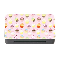 Baby Pink Valentines Cup Cakes Memory Card Reader With Cf