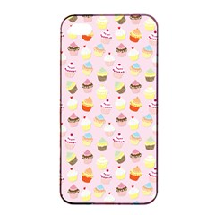 Baby Pink Valentines Cup Cakes Apple Iphone 4/4s Seamless Case (black)