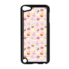 Baby Pink Valentines Cup Cakes Apple Ipod Touch 5 Case (black)