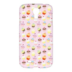 Baby Pink Valentines Cup Cakes Samsung Galaxy S4 I9500/i9505 Hardshell Case