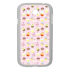 Baby Pink Valentines Cup Cakes Samsung Galaxy Grand Duos I9082 Case (white)