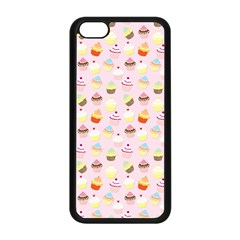Baby Pink Valentines Cup Cakes Apple Iphone 5c Seamless Case (black)