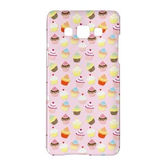 Baby Pink Valentines Cup Cakes Samsung Galaxy A5 Hardshell Case