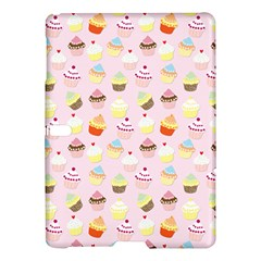 Baby Pink Valentines Cup Cakes Samsung Galaxy Tab S (10 5 ) Hardshell Case