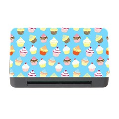 Pale Pastel Blue Cup Cakes Memory Card Reader With Cf