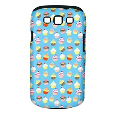 Pale Pastel Blue Cup Cakes Samsung Galaxy S Iii Classic Hardshell Case (pc+silicone)