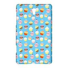 Pale Pastel Blue Cup Cakes Samsung Galaxy Tab S (8 4 ) Hardshell Case