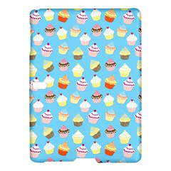 Pale Pastel Blue Cup Cakes Samsung Galaxy Tab S (10 5 ) Hardshell Case