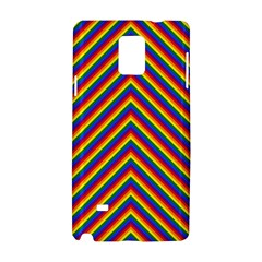 Gay Pride Flag Rainbow Chevron Stripe Samsung Galaxy Note 4 Hardshell Case