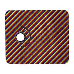 Gay Pride Flag Candy Cane Diagonal Stripe Galaxy S3 (flip/folio)
