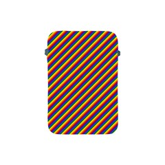 Gay Pride Flag Candy Cane Diagonal Stripe Apple Ipad Mini Protective Soft Cases